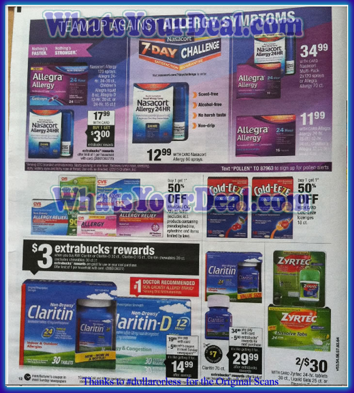 CVS Ad Scans March 22 2015 - March 28 2015